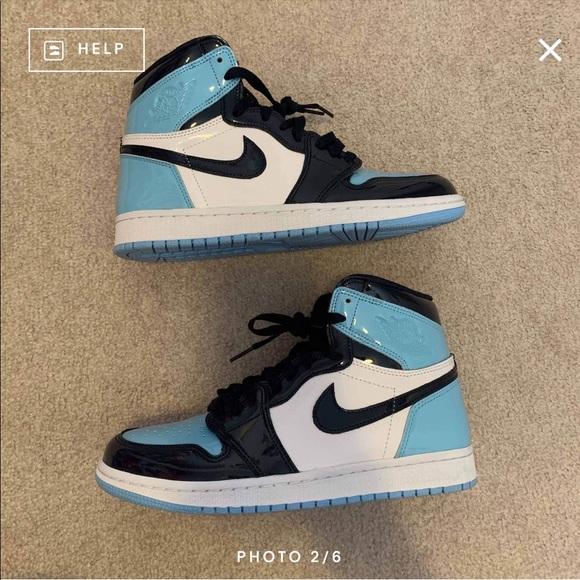 Jordan Shoes Blue Chill Womens Air 1 Size 85 Poshmark
